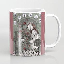 When it Snows Outside (My Secret Garden) Coffee Mug