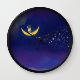 Star Artist Wall Clock
