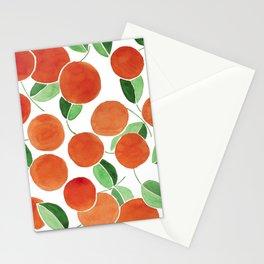 Tiny oranges Stationery Cards