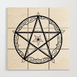 Pentacle Wood Wall Art