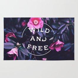 Wild and free (botanic) Rug