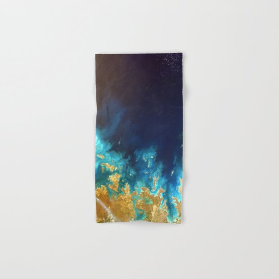 Ocean from above Hand & Bath Towel