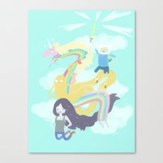 Time for an Adventure Canvas Print
