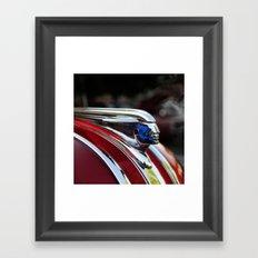 Retro Pontiac hood ornament from the Goodguy's Auto show Framed Art Print