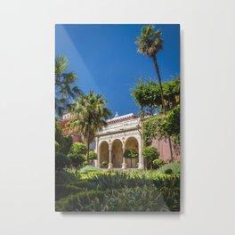 Sevilla - pilate's palace Metal Print