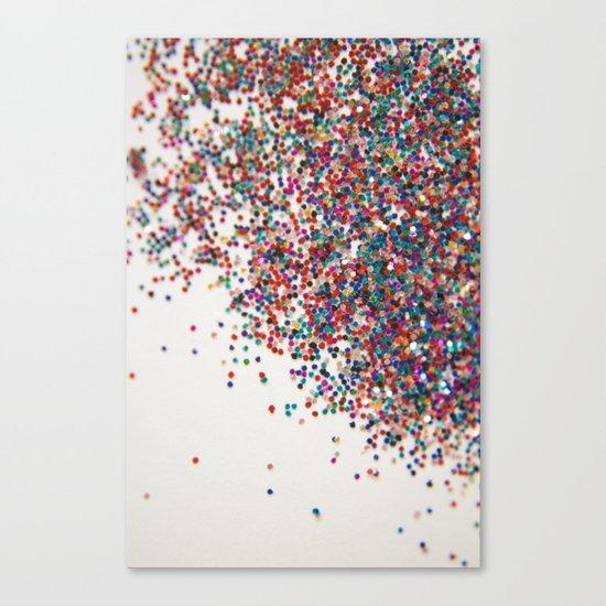 Fun II (NOT REAL GLITTER) Canvas Print