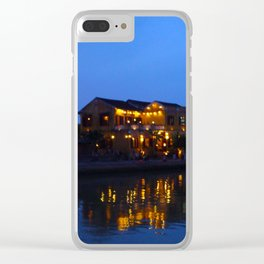 Hoi Ann Reflected Clear iPhone Case