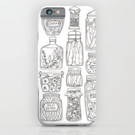 Pickles Print iPhone Case