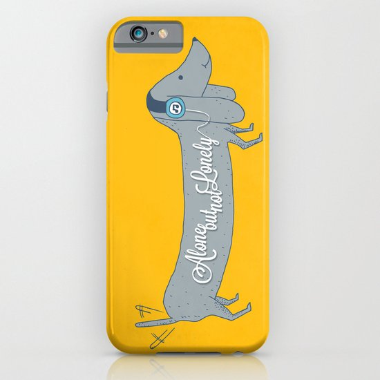 Alone but not Lonely iPhone & iPod Case