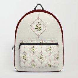 Minimal Holly Jolly Backpack