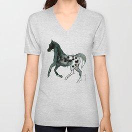 Horse (Leopard) Unisex V-Neck