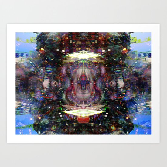 untempered overexaggeration tendency process Art Print