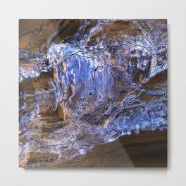 Blueglass Metal Print