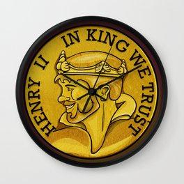 In King We Trust Wall Clock