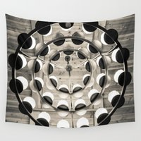 chandelier Wall Tapestries featuring Under The Light by Redhedge Photos