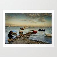 The Photographer | El Fotógrafo Art Print