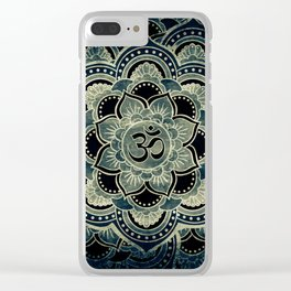Galactic Ohm Clear iPhone Case