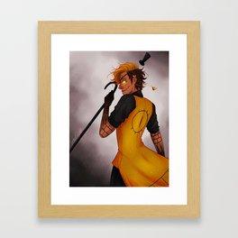 CRAZY=GENIUS Framed Art Print