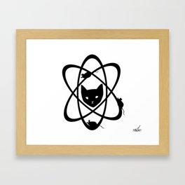 Catomic Energy Framed Art Print