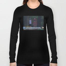 CLOWN HYSTERIA SPOOKS LOCAL TEENS Long Sleeve T-shirt