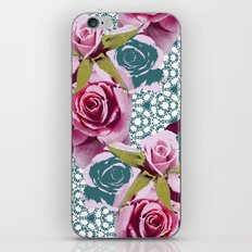 Modern Baroque Rose iPhone & iPod Skin