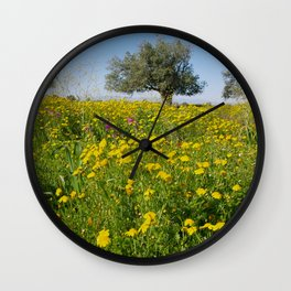 Springtime in Cyprus Wall Clock