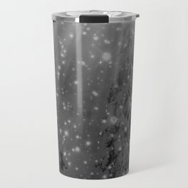Silent Night - B & W Travel Mug