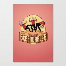 Redshirt Expendables Canvas Print
