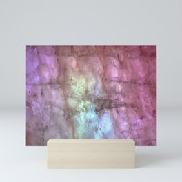 Lights & Minerals Mini Art Print