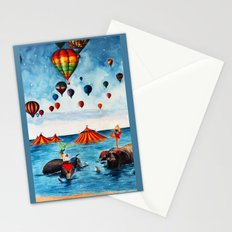 Rising Circus Stationery Cards