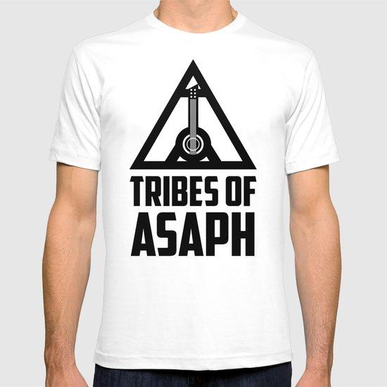 Tribes Of Asaph (Black on light) T-shirt