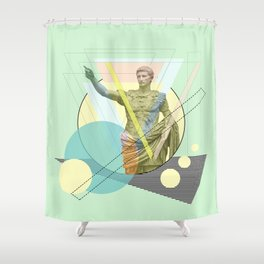 augustus the emperor Shower Curtain
