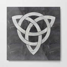 Celtic knot Metal Print