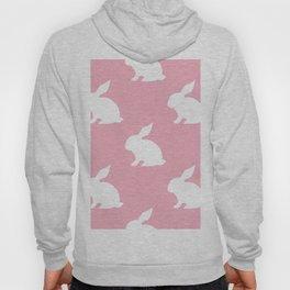 Bunny On Pink Hoody
