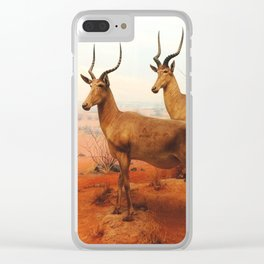Red Earth Clear iPhone Case