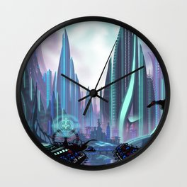 Transia City Wall Clock