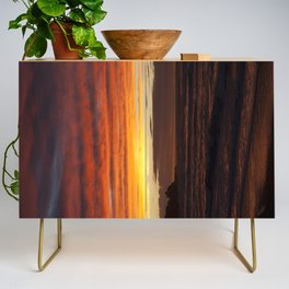 When the sky turns Credenza