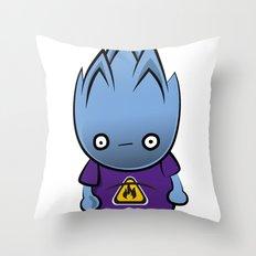 Flammable Throw Pillow