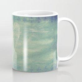 Battered Vintage Heart Coffee Mug