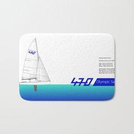 470 Olympic Sailing Bath Mat
