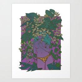 plantae ii Art Print