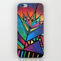 alien iPhone & iPod Skins featuring ALIEN by Deyana Deco