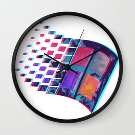 SUMMERBREEZE.psd Wall Clock