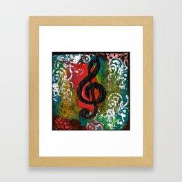 Create Music  Framed Art Print
