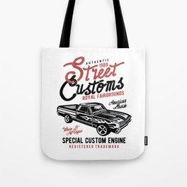 Street Customs Royal Fairgrounds Tote Bag