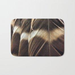 Barred Owl Feathers Bath Mat
