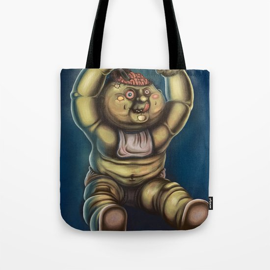 Tubby Zombie Tote Bag