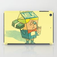 milk iPad Cases featuring Spoiled Milk by Joshua Kemble