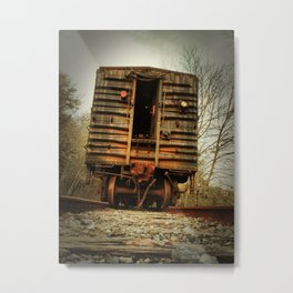 Forgotten Train Metal Print