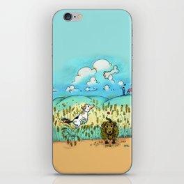 Mr Badger & Little Stitch iPhone Skin